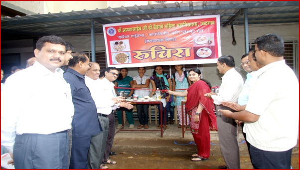 Inaugurating Guest Miss.Shilpa Kabra, Ex. Studant