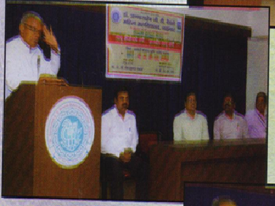 Nache Kirtanache Rangi dyandeep lau jagi . Speaker – Prof. C.S.Patil.